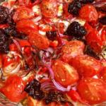 die halb-vegetarische Spaghetti Bolognese