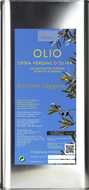 Italienisches Olivenöl Extra Vergine