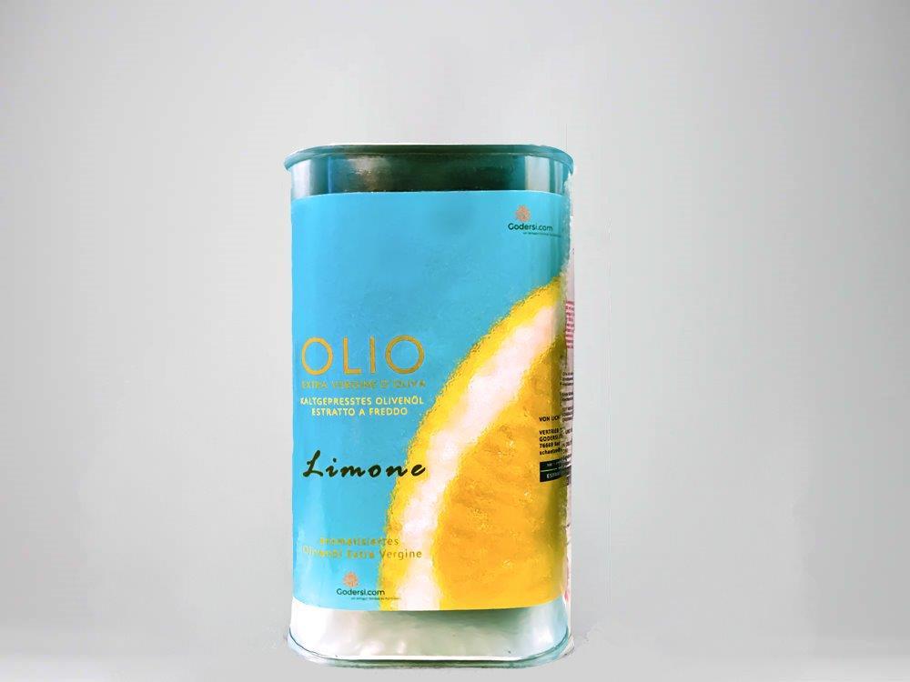 Gewürzöl mit Zitronen: Olivenöl Extra Vergine Limone